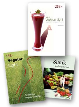 Vegetar Light bøger